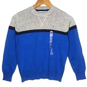 Tommy Hilfiger Color Block Sweater Small 8 10